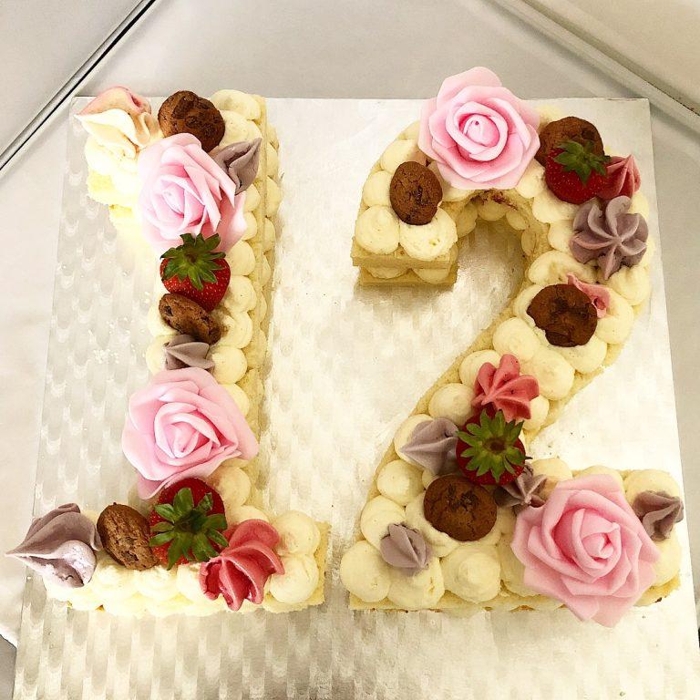 Number Cake : gâteau d'anniversaire
