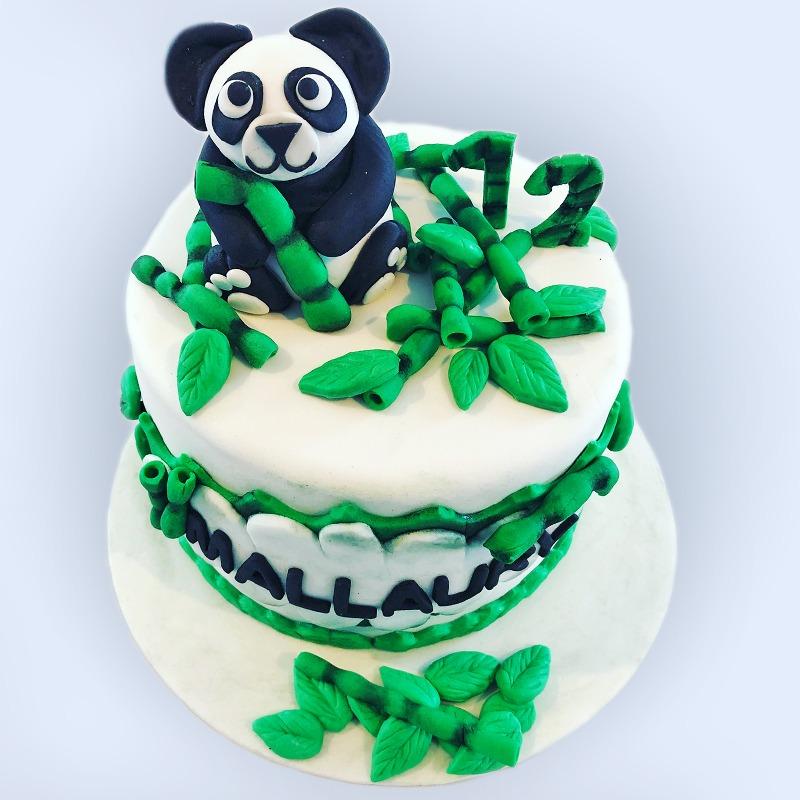 Gourmandelices de Claudia - Cake Design - Panda - 12 ans Mallaury