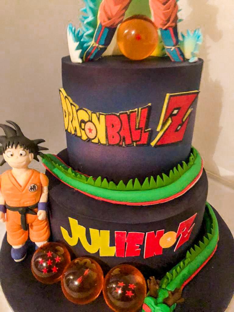 Gourmandelices de Claudia - Cake Design - Dragon Ball Z - 27 ans Julien