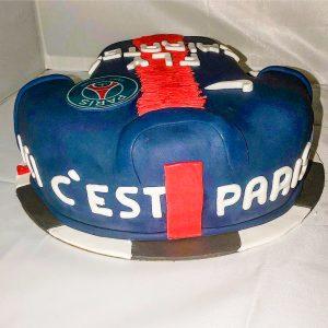 Gourmandelices de Claudia - Cake Design - PSG - 50 ans Fab