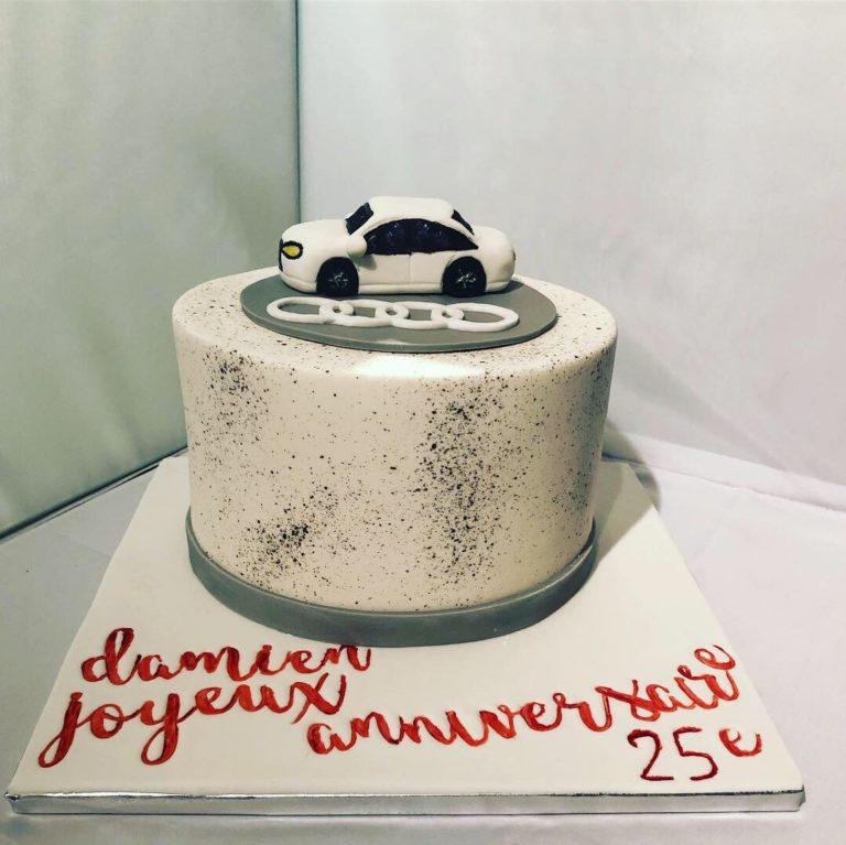 Gâteau voiture Audi